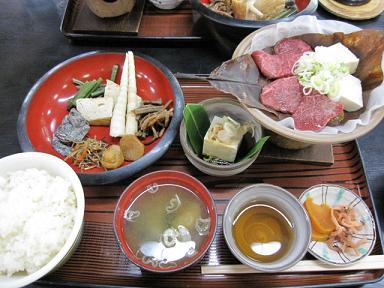 飛騨牛と芳葉味噌セット(≧▽≦)♪