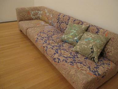 素敵なソファ・・・じゃなくて。