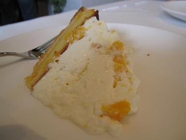 オレンジムースのチーズケーキ(だっけ?)