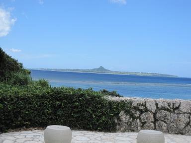 伊江島綺麗でした。