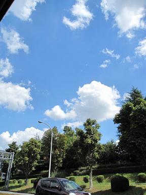この日の空は格別に綺麗だった!