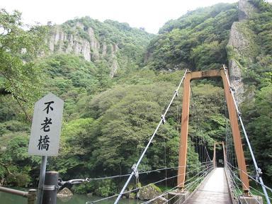 吊り橋往復しただけですけど(笑)