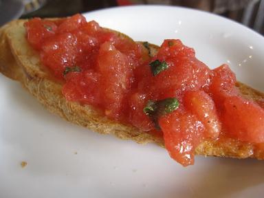 トマトのブルケッスタ♪