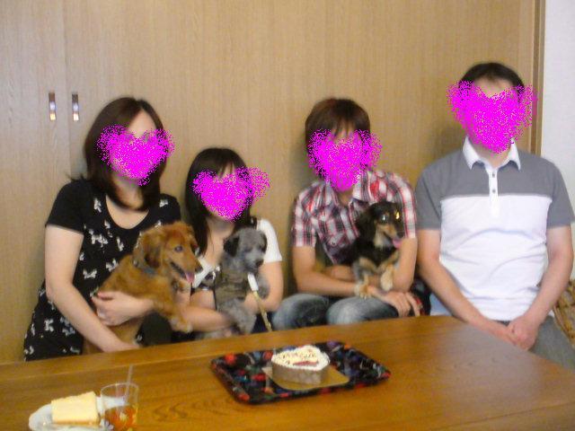 川西さんご家族