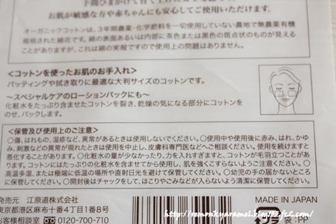 江原道 オーガニックコットン エイジレスな日々をプロデュース 美容ブログ