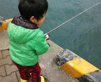 釣れるかなぁー?