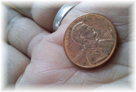 お守り1セントコイン