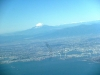 上空から富士