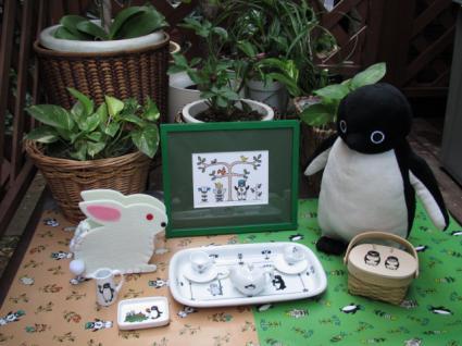 森のペンギン1