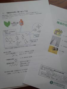 精油の化学