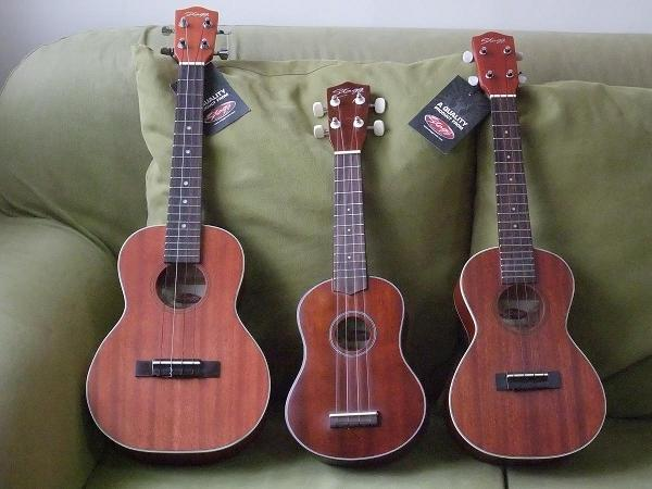 Ukulele Three brothers