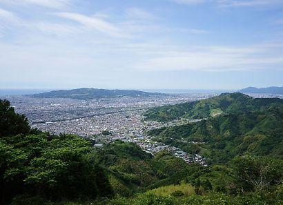 大道山山頂付近からの景色-4