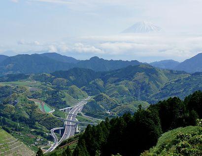 大道山山頂付近からの景色-3