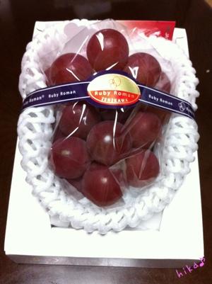 加賀の葡萄♪