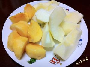 秋の果物♪