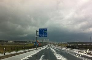 白い国道♪