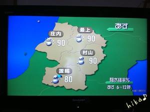 天気予報♪