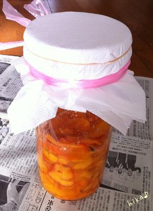 柿酢にチャレンジ♪