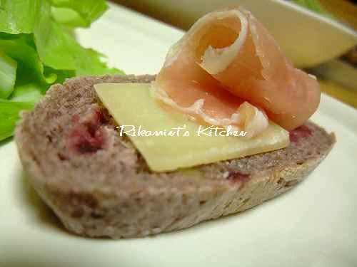 DSCF8・1パン&チーズ&ハム (3)