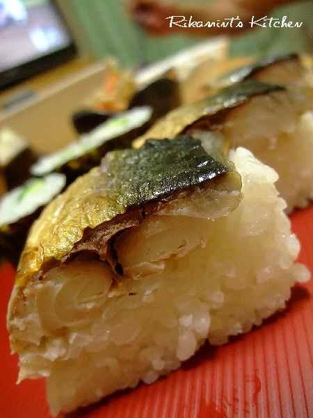 DSCF8・17焼き鯖寿司 (4)
