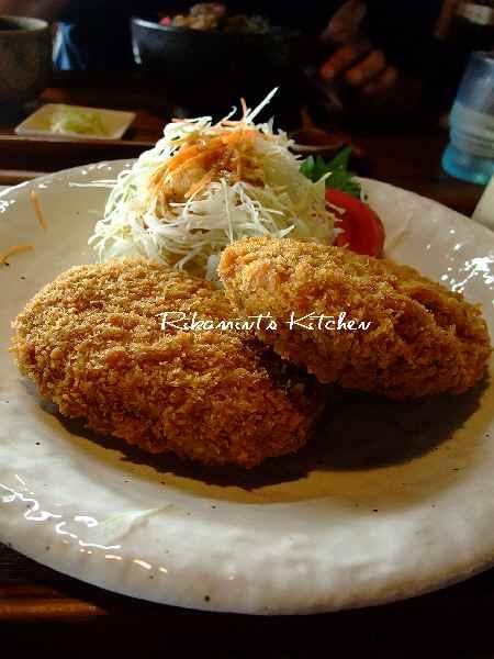 DSCF8・27べべんこコロッケ定食