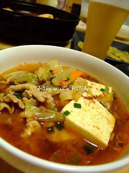 DSCF9・15豆腐チゲ (6)