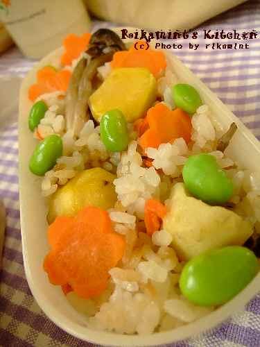 DSCF10・20お弁当炊き込みご飯 (2)