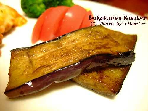 DSCF10・22茄子のガーリックバルサミコソテー