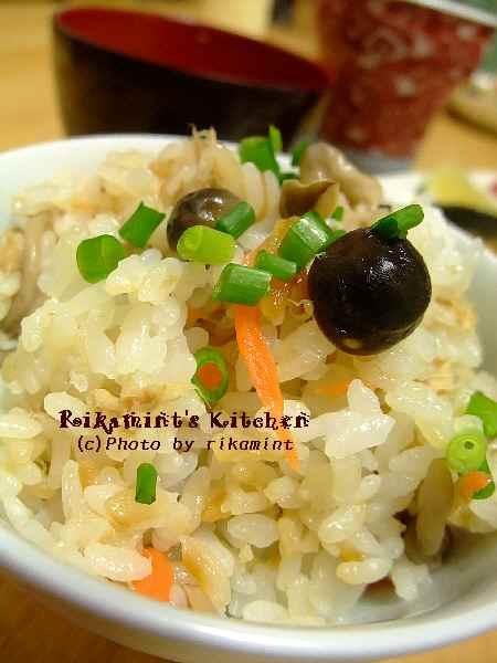 DSCF11・23ツナとしめじの炊き込みご飯