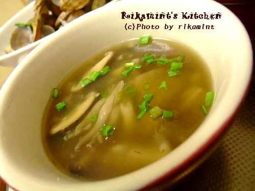 DSCF12・1きのこと生姜のとろとろスープ (1)