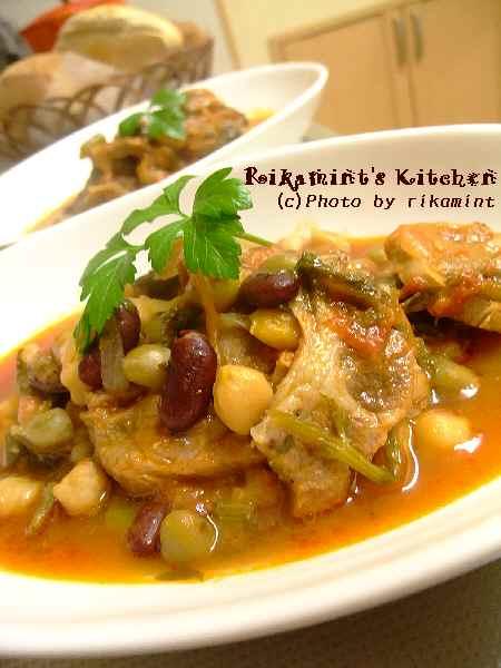 DSCF1・28豚と豆のトマト煮 (2)