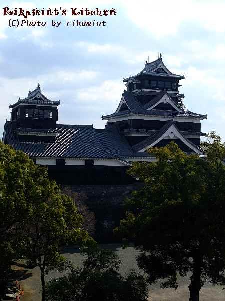 DSCF2・12宇土櫓から見る熊本城