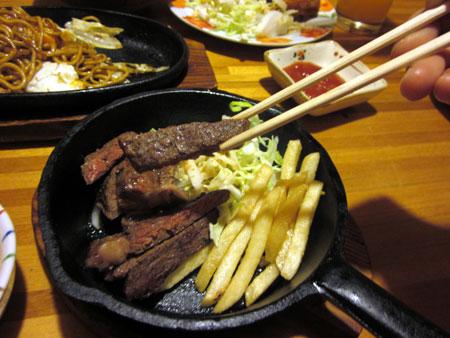 20120504牛ステーキ