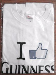 「I Like GUINNESS(R)」Tシャツ