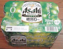 アサヒスタイルフリー6缶