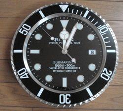 ロレックス・サブマリーナの壁時計