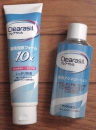 薬用洗顔フォーム10xと薬用アクネローション