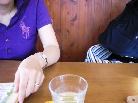 娘とカフェへ