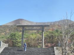 s-CBR250R ツーリング 高千穂峰登山 嘉例川駅 (8)
