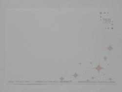s-一番くじ アイドルマスター輝きの向こう側へ  アートプレート クリアファイルポストカード D賞きゅんキャラ千早 (10)