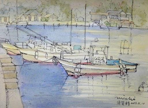 須賀利漁港