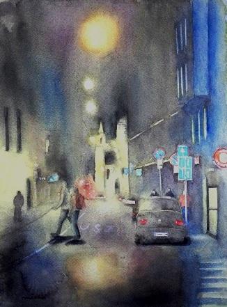 ブダペスト夜景A