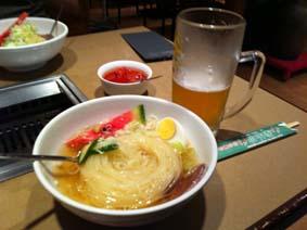 盛岡冷麺と命の水