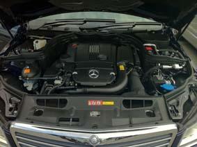 C200のエンジン