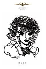 切り絵作品集 薔薇の記憶
