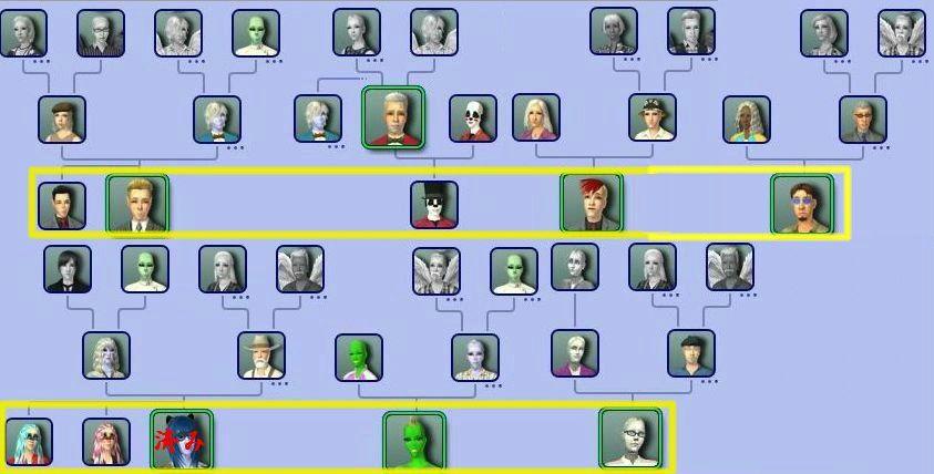 回収対象家系図