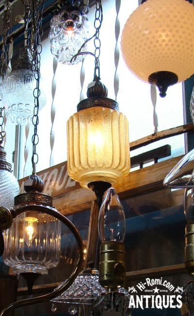 もぎとりセールにアンティーク照明・ヴィンテージランプなど持ち込みます!