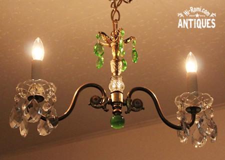 第29回 神戸骨董祭 アメリカンアンティーク シャンデリア ランプ ライト ヴィンテージ ブロカント