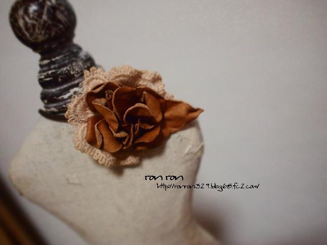 お花のヘアゴム1-3