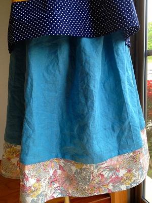 重ね履き風スカート